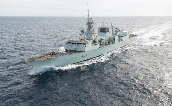 Canada chi hàng tỷ USD hiện đại hóa đội tàu tuần tra trên biển