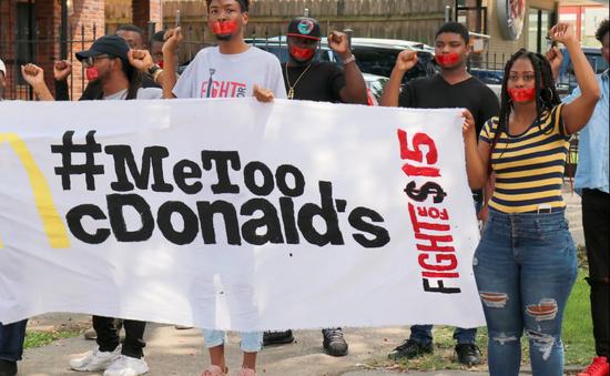 Phong trào #MeToo lan tới chuỗi cửa hàng McDonald's