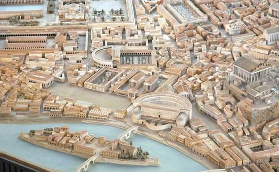 Mô hình thành Rome cổ đại mất 35 năm để làm đẹp đến cỡ nào?
