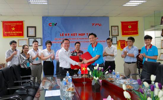 Trường Cao đẳng Truyền hình và Công ty CP tự động hóa Tân Phát ký kết thỏa thuận hợp tác