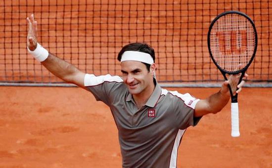 Roger Federer và các tay vợt hạt giống dễ dàng tiến vào vòng 2 Pháp mở rộng 2019