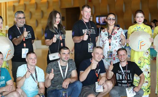 Đội tuyển Nga sẵn sàng cho những màn pháo hoa rực rỡ tại Đà Nẵng