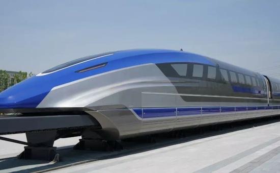 Trung Quốc sản xuất tàu siêu tốc đệm từ trường có tốc độ 600 km/h