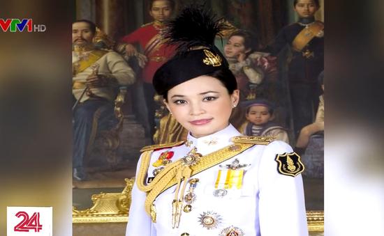 Hoàng gia Thái Lan công bố những bức ảnh chính thức về hoàng hậu