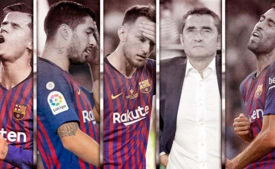"""Báo Tây Ban Nha chỉ ra hàng loạt """"tội"""" của HLV Valverde ở Barcelona"""
