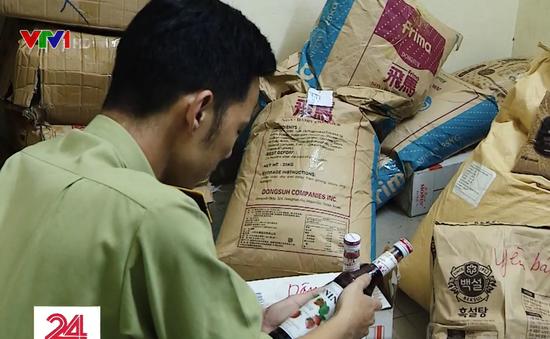 Phát hiện 2 đại lý phân phối nguyên liệu trà sữa có dấu hiệu vi phạm
