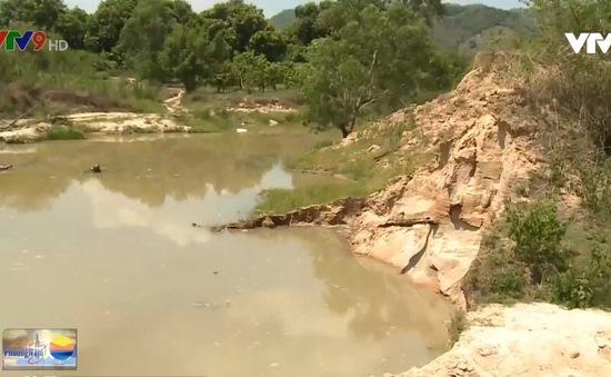 Khánh Hòa: Phản hồi tình trạng khai thác cát trái phép gây sạt lở đất sản xuất của người dân.
