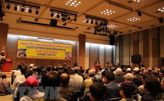 Hàn Quốc đòi bồi thường cho các nạn nhân chất độc da cam