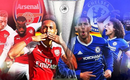 Lịch trực tiếp chung kết Europa League: Chelsea và Arsenal tranh vương