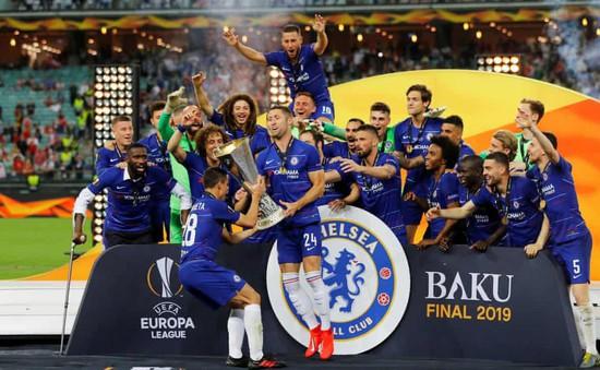 ẢNH: Hazard lập cú đúp, Chelsea giành ngôi vô địch Europa League
