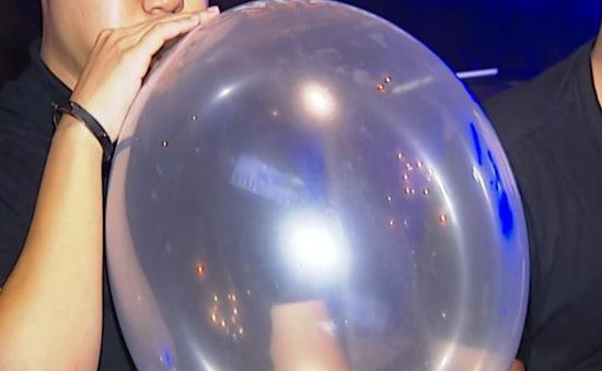 Bộ Y tế khuyến cáo không sử dụng khí N2O để giải trí