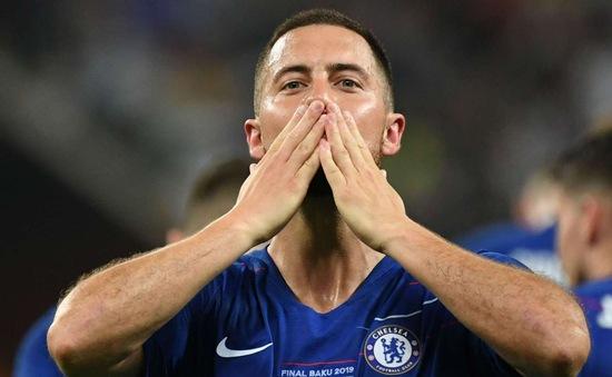 Vô địch Europa League, Hazard chính thức nói lời chia tay Chelsea