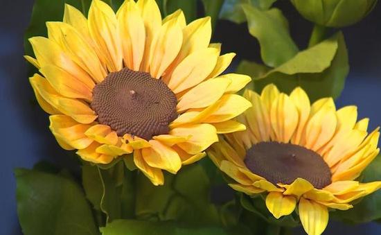 Độc đáo dịch vụ nặn hoa từ đất sét