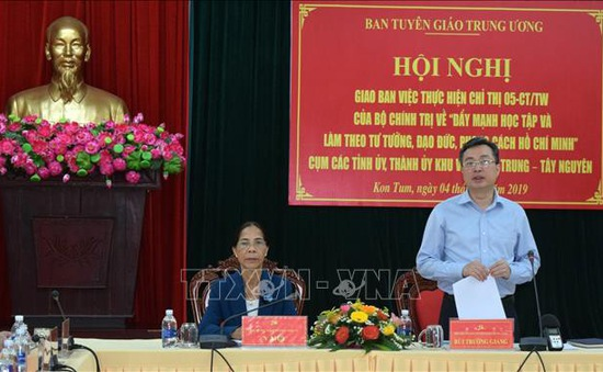 Đẩy mạnh việc làm theo đạo đức, phong cách Hồ Chí Minh