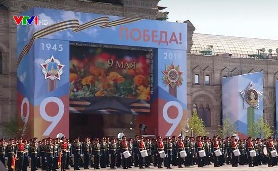Nga tổng diễn tập duyệt binh Ngày Chiến thắng