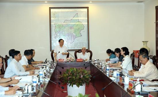 Kiểm tra việc thực hiện Nghị quyết tại Bình Phước