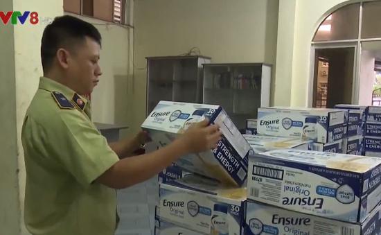 Phú Yên: Bắt giữ 330 thùng sữa không được phép lưu hành tại Việt Nam
