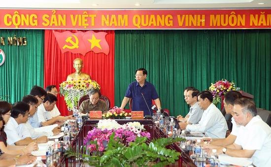 Kiểm tra công tác cán bộ tại tỉnh Đăk Nông
