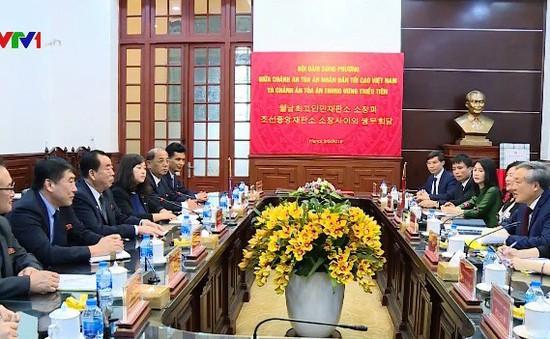 Việt Nam - Triều Tiên hợp tác trong lĩnh vực tòa án