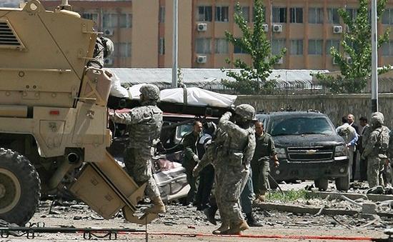 Đánh bom đoàn xe quân sự Mỹ tại Afghanistan