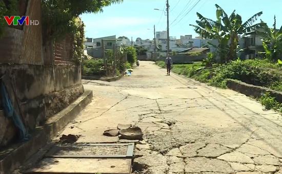 Một phụ nữ bị nước cuốn tử vong giữa phố