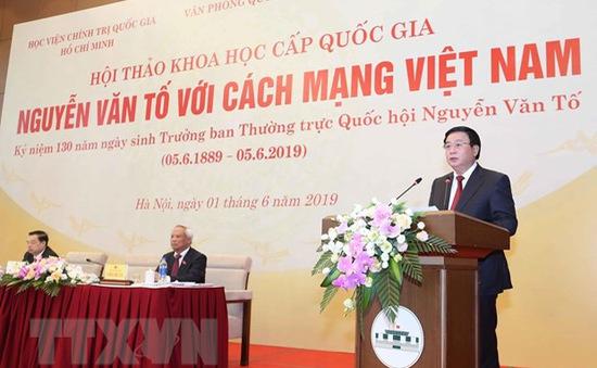 """Hội thảo khoa học cấp quốc gia """"Nguyễn Văn Tố với cách mạng Việt Nam"""""""