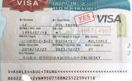 Hàn Quốc ngừng tiếp nhận visa 5 năm với hộ khẩu tạm trú