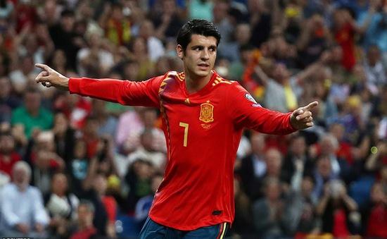 Kết quả vòng loại EURO 2020 rạng sáng 11/6: ĐT Tây Ban Nha và ĐT Ba Lan toàn thắng 4 trận