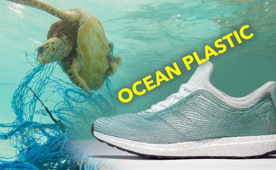 Adidas sản xuất 11 triệu đôi giày từ rác thải nhựa