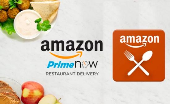 Amazon chấm dứt dịch vụ giao đồ ăn