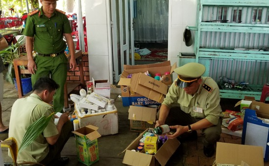 Bình Phước: Bắt giữ gần 1.200 sản phẩm mỹ phẩm, thực phẩm chức năng nhập lậu