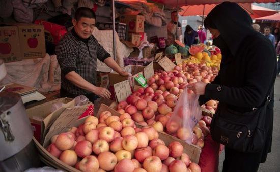 Giá táo ở Trung Quốc tăng vọt