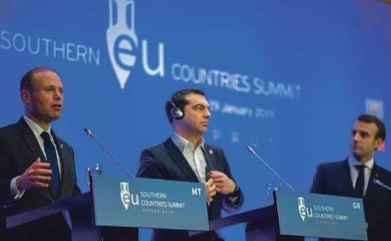 Liên minh Địa Trung Hải không đạt thỏa thuận chung về vấn đề nhập cư
