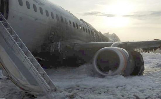 Công bố nguyên nhân vụ cháy máy bay Nga