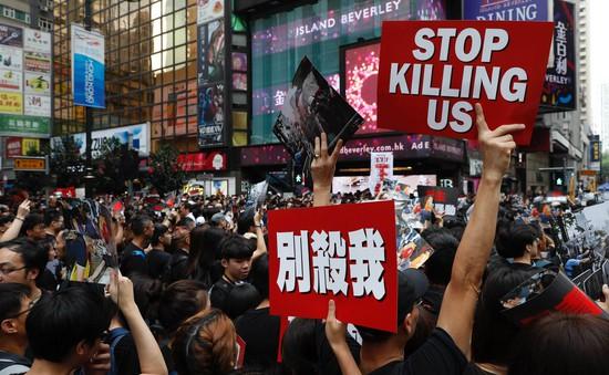 Trung Quốc ủng hộ Hong Kong đình chỉ dự luật dẫn độ