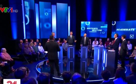 Các ứng cử viên Thủ tướng Anh tham gia tranh luận trên truyền hình