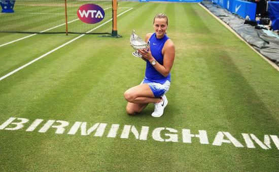 Petra Kvitova rút lui khỏi giải quần vợt Birmingham Classic