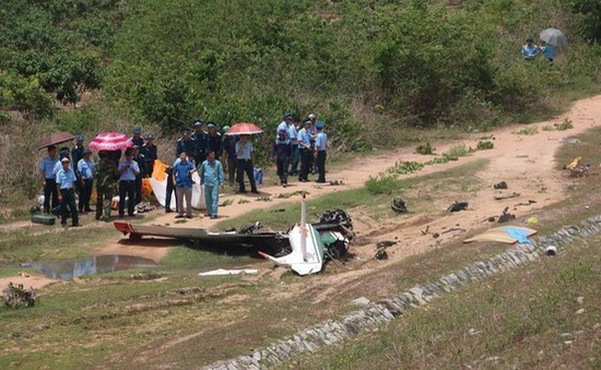 Nguyên nhân ban đầu tai nạn máy bay quân sự tại Khánh Hòa là do lỗi kỹ thuật