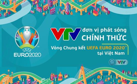 CHÍNH THỨC: VTV sở hữu bản quyền truyền thông, trở thành đơn vị phát sóng VCK UEFA EURO 2020™ tại Việt Nam