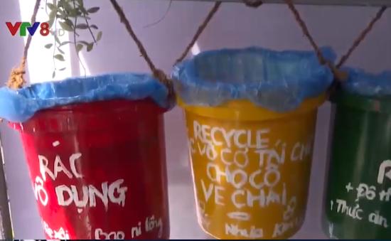 Thanh niên Đà Nẵng nói không với rác thải nhựa