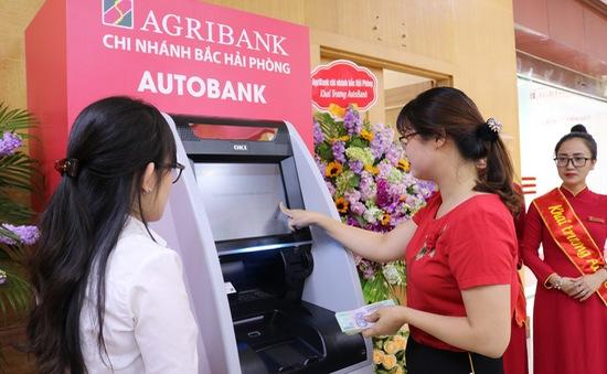 Agribank lắp đặt thêm 40 ATM đa chức năng