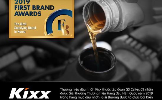 Kixx nhận giải thưởng Thương hiệu Hàng đầu Hàn Quốc