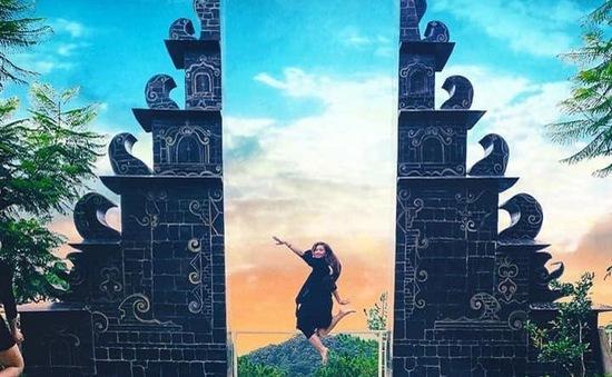 """""""Cổng trời Bali"""" xuất hiện tại Đà Lạt"""