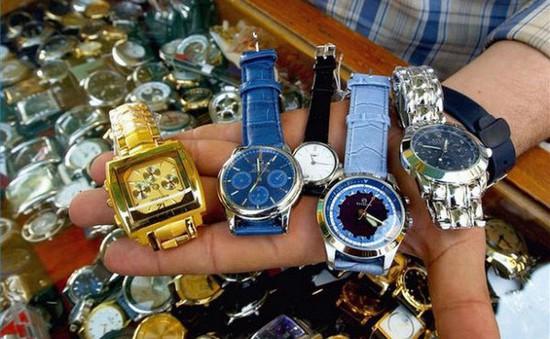 Quảng Ninh: Tịch thu gần 1.800 chiếc đồng hồ các loại trị giá hàng trăm triệu đồng