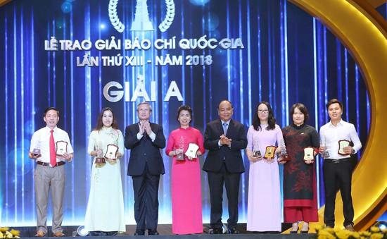 Danh sách tác giả, tác phẩm đoạt Giải báo chí quốc gia lần thứ XIII - 2018