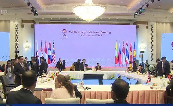Các Bộ trưởng ASEAN thảo luận về an ninh khu vực