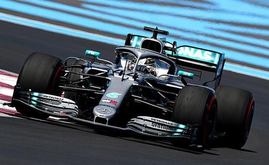 Đua xe F1: Đội đua Mercedes tỏ ra vượt trội tại buổi đua thử GP Pháp