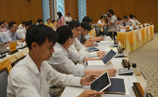 Khai trương Hệ thống e-Cabinet hướng tới Chính phủ số