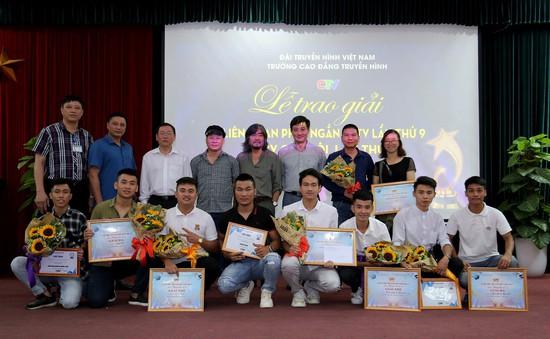 Trao giải Liên hoan phim ngắn SCTV và MV của tôi cho sinh viên Cao đẳng Truyền hình