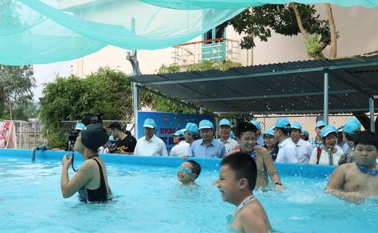 Phát động phòng ngừa rủi ro thiên tai liên quan đến đuối nước cho trẻ em trong mùa mưa lũ